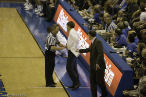 Talking with Officials can be a very beneficial strategy, but it needs to be approached in the right manner (Photo Source: jmrosenfeld)