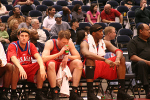 An often under-utilised Asset; the players on the team's bench (Source: Jeff Kramer)