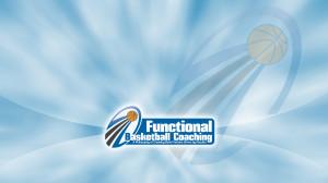 Functional Basketball Coaching Blue Wallpaper