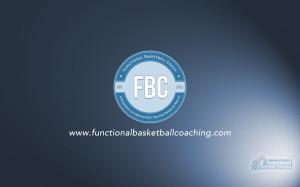 Functional Basketball Coaching Retro Badge Wallpaper