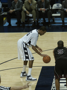 Some players need to become very efficient at making foul shots to penalise the opposition when fouling them consistently (Photo Source: Ben Stanfield)