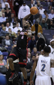 LeBron James is the perfect example of a Small Forward able to play across a number of player positions (Photo Source: Keith Allison)