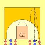 1 v 2 HC Trapping Drill Diagram 1