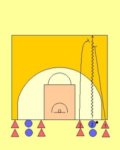 1 v 2 HC Trapping Drill Diagram 1