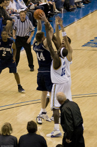 A well executed Zone Defence can help teams with elements such as Doubling or Trapping (Photo Source: jmrosenfeld)